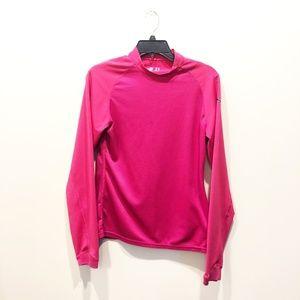 Women's Puma Long Sleeve Magenta Golf Shirt XL